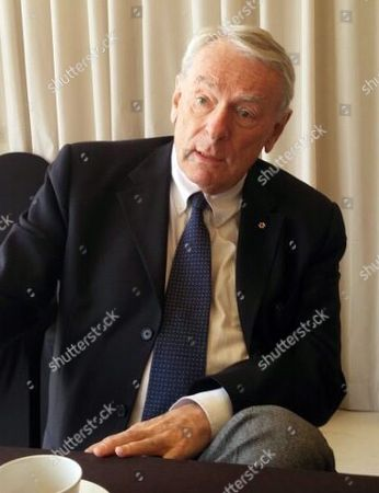 Richard Pound a Founding President of the World Anti-doping Agency (wada) Speaks During an Interview with Yonhap News Agency in Seoul South Korea 02 May 2016 Pound Said the South Korean Olympic Body is Unfairly Penalizing Swimmer Park Tae-hwan Twice For a Single Doping Offense by Banning Him From This Year's Summer Games Korea, Republic of Seoul