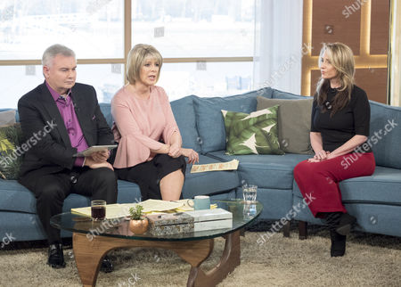 Stock Image of Eamonn Holmes and Ruth Langsford with Deborah Hyde