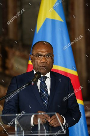 Leonard She Okitundu, Minister of Foreign Affairs of Congo