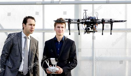 Editorial picture of Drone in the detection of plant diseases, Bleiswijk, Netherlands - 13 Feb 2017