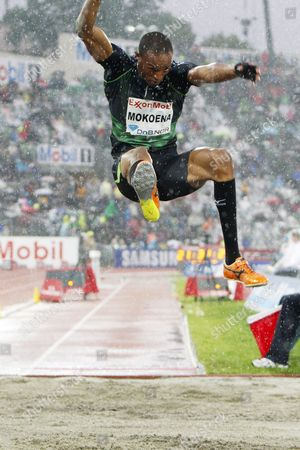 Godfrey Khotso Mokoena of South Africa Wins the Men's Long Jump of the Bislett Games - Diamond League in Oslo Norway 09 June 2011 Norway Oslo