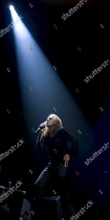 Frontman Ronnie James Dio of British Heavy Metal Group 'Heaven and Hell' on Stage During a Concert in Oslo Norway on 04 June 2009 Norway Oslo