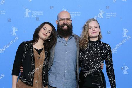 Ella Rumpf, Jakob Lass and Maria Dragus