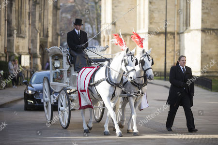 The funeral of seven year old Katie Rough has taken place at York Minster today led by the Archbishop of York Dr John Sentamu.
