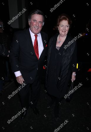 Terry Wogan and wife Helen Joyce