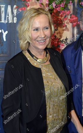 Former Abba Member Agnetha Faltskog Arrives For the Premiere of 'Mamma Mia! the Party' at the Restaurant Tyrol in Stockholm Sweden 20 January 2016 the New Entertainment Venue in the Grona Lund Amusement Park is Based on the Greek Tavern in the World-famous Mamma Mia Musical and Movie and Offers Visitors a Mediterranean Menu and Abba Dinner Entertainment Sweden Stockholm