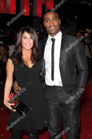 Simon Webbe and girlfriend Layla Manoochehri