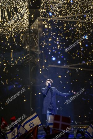 Israel's Hovi Star Performs the Song 'Made of Stars' During the Second Semi-final of the 61st Annual Eurovision Song Contest (esc) at the Ericsson Globe Arena in Stockholm Sweden 12 May 2016 the Event's Grand Final Takes Place on 14 May Sweden Stockholm
