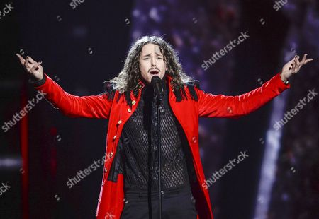 Poland's Michal Szpak Performs the Song 'Color of Your Life' During the Second Semi-final of the 61st Annual Eurovision Song Contest (esc) at the Ericsson Globe Arena in Stockholm Sweden 12 May 2016 the Event's Grand Final Takes Place on 14 May Sweden Stockholm