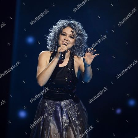 Rykka of Switzerland Performs the Song 'The Last of Our Kind' During Rehearsals For the Second Semi-final of the 61st Annual Eurovision Song Contest (esc) at the Ericsson Globe in Stockholm Sweden 11 May 2016 the Event's Grand Final Takes Place on 14 May Sweden Stockholm