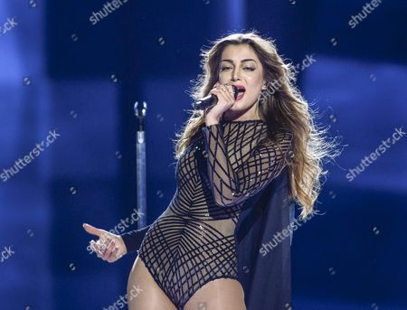 Armenia's Iveta Mukuchyan Performs with the Song 'Lovewave' During the First Semi-final of the 61st Annual Eurovision Song Contest (esc) at the Ericsson Globe in Stockholm Sweden 10 May 2016 the Second Semi-final Takes Place on 12 May and the Grand Final is Held on 14 May Sweden Stockholm