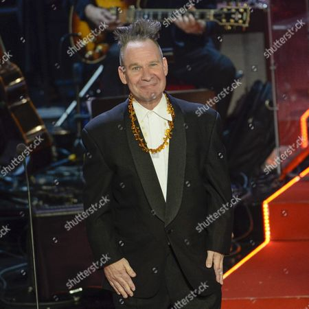 Us Theatre Director Peter Sellars Reacts During the Awarding Ceremony of the Swedish Polar Music Prize in Stockholm Sweden 26 August 2014 Sellars Received the Prize For His Innovative Work in the Field of Opera and Music Productions Sweden Stockholm