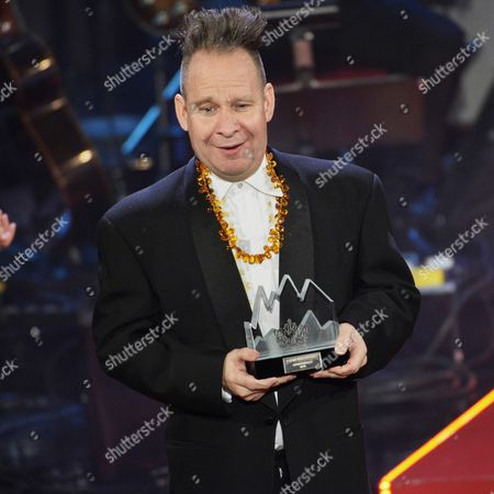 Us Theatre Director Peter Sellars Reacts After Being Awarded with the Swedish Polar Music Prize at a Ceremony in Stockholm Sweden 26 August 2014 Sellars Received the Prize For His Innovative Work in the Field of Opera and Music Productions Sweden Stockholm