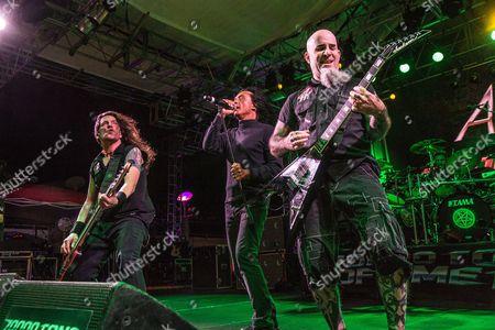 Anthrax - Joey Belladonna, Frank Bello, Scott Ian