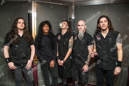 Anthrax - Scott Ian, Charlie Benante, Frank Bello, Joey Belladonna, Jonathan Donais