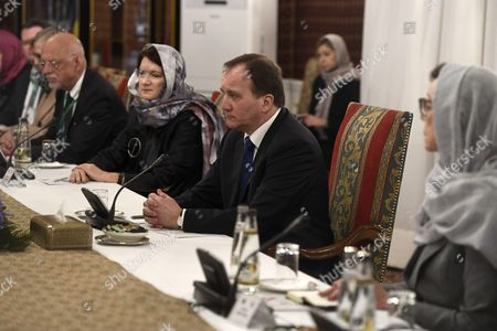 Stefan Löfven, Swedh PM, Ann Linde, Swedish Minister for European Union Affairs and Trade