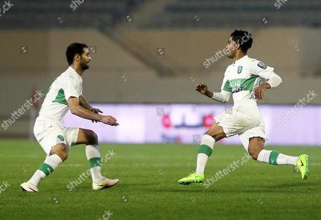 Housain Al-Mogahwi and Saad Abdulamir