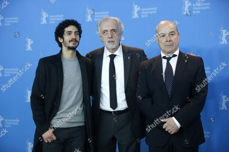 Antonio Resines, Chino Darin and Fernando Trueba