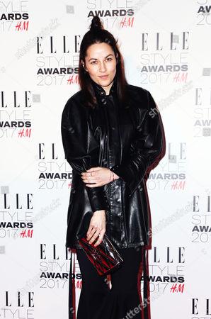 Editorial photo of Elle Style Awards, London, UK - 13 Feb 2017