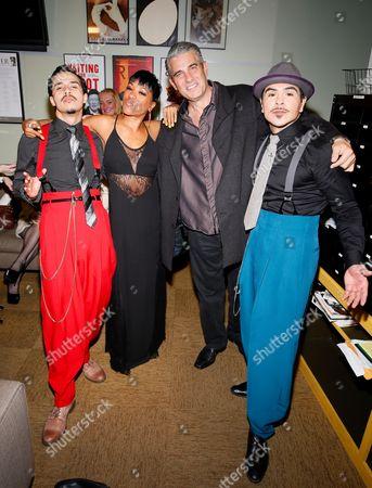 Michael Naydoe Pinedo, Reina Hidalgo and Richard Steinmetz and Gilbert Saldivar