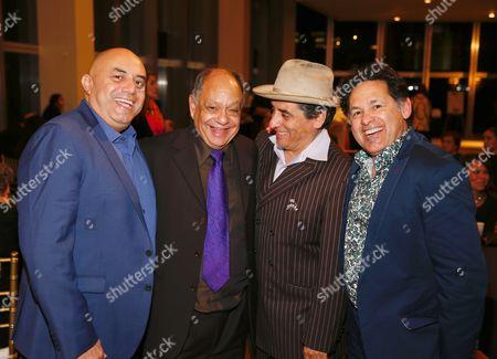 Stock Picture of Herbert Siguenza, Cheech Marin, Richard Montoya and Ric Salinas