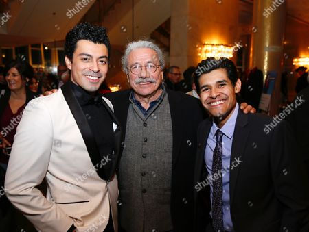 Matias Ponce, Edward James Olmos and Andres Ortiz