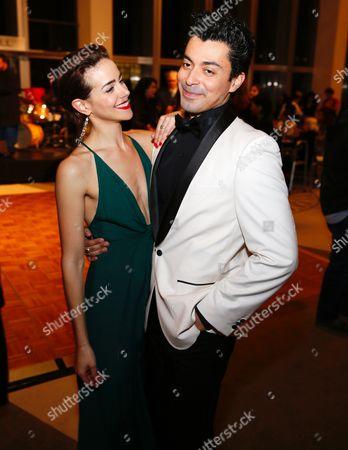 Tiffany Dupont and Matias Ponce