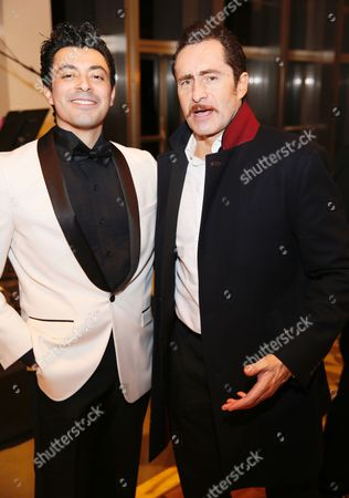Matias Ponce and Demian Bichir