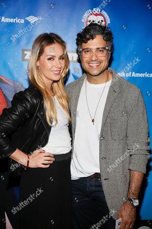 Heidi Balvanera and Jaime Camil