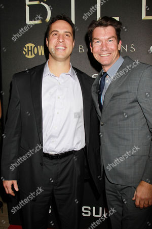 Mark Teixeira and Jerry O'Connell