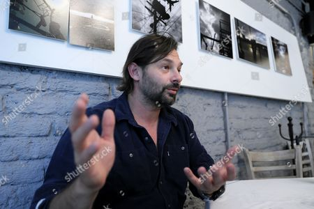 Editorial picture of Australian photographer Daniel Berehulak's interview in Mexico Ciity, Mexico City - 13 Feb 2017