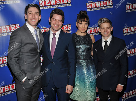 Editorial picture of 'Newsies' The Broadway Musical premiere, New York, USA - 13 Feb 2017