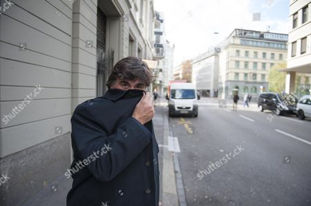 Editorial picture of Martin Samuel Visits The Hotel Baur Au Lac Zurich Switzerland Where Fifa Officials Were Picked Up For Investigation Earlier This Year.