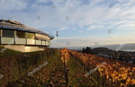 Stock Image of Martin Samuel Visits Fifa Restaurant Sonnenberg Where Sepp Blatter Would Often Dine.