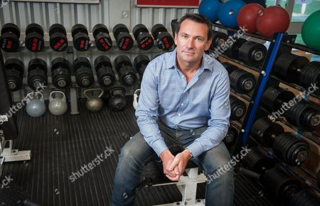 Editorial picture of Warrington Wolves Rugby League Roger Draper New Ceo - Interview.