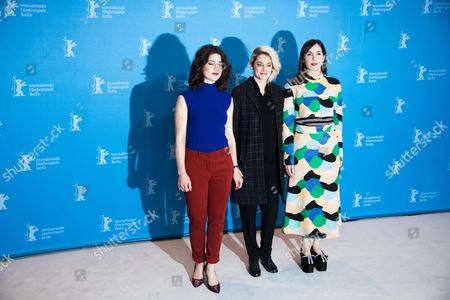 Amira Casar, Victoire Du Bois and Esther Garrel