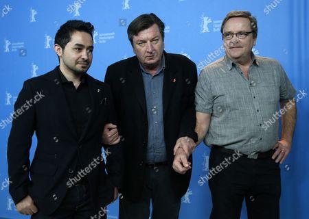 Aki Kaurismaki, Sherwan Haji and Sakari Kuosmanen