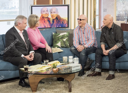 Eamonn Holmes and Ruth Langsford with Right Said Fred - Richard Fairbrass and Fred Fairbrass