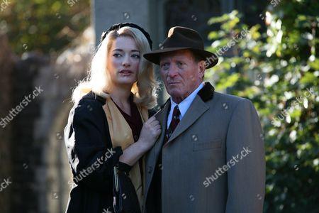 Stock Picture of 'Marple'  TV - 2008 - Nemesis -  Laura Michelle Kelly, Johnny Briggs.