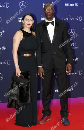 Stock Picture of Michael Johnson and Armine Shamiryan