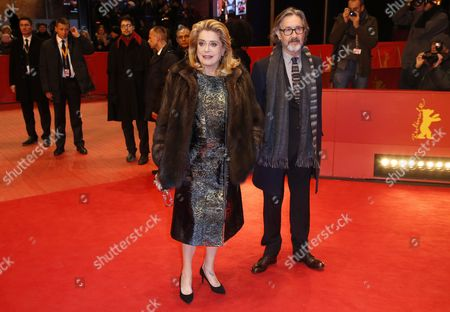 Catherine Deneuve and Martin Provost