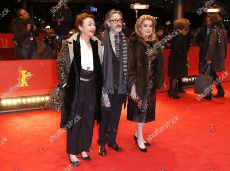 Catherine Deneuve, Martin Provost and Catherine Frot