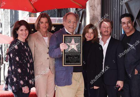 Wendie Malick, George Segal, Laura San Giacomo, David Spade and Guests