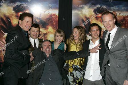 Brendan Fraser, Andy Serkis, director Iain Softley, Eliza Hope Bennett, Sienna Guillory, Rafi Gavron and Paul Bettany