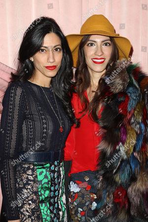 Huma Abedin and Heba Abedin