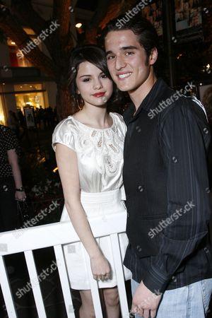 Selena Gomez and Daniel Samonas