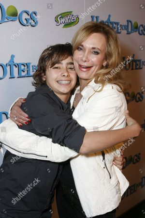 Jansen Panettiere and mom Lesley Vogel