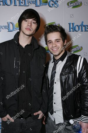 Stock Image of Matt Prokop and Ryan Pinkston