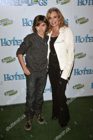Jansen Panettiere and mother Lesley Vogel