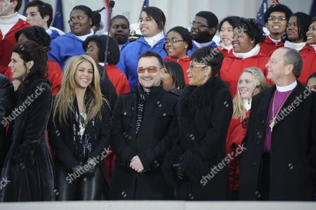 Editorial photo of 'We Are One' Barack Obama Inaugural Celebration concert at the Lincoln Memorial in Washington DC, America - 18 Jan 2009